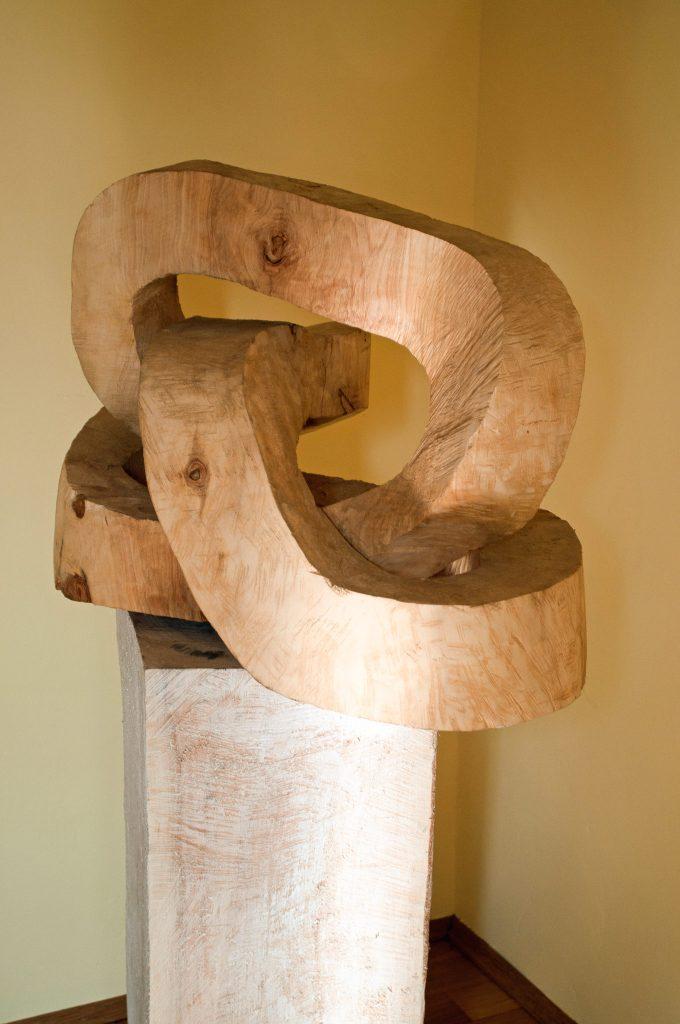 Eiche, 2009 (60 · 80 · 60 cm)
