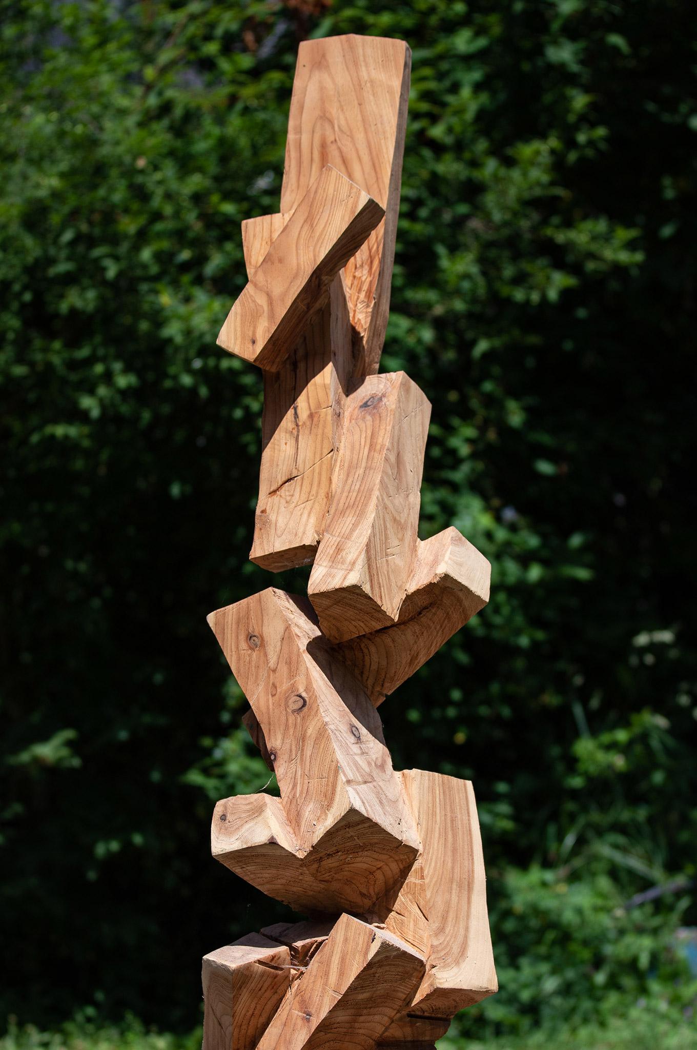 Lenngries-Kunstwoche-Hannes-Kinau-Holzskulpturen